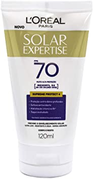 Protetor Solar Expertise FPS 70, L'Oréal Paris, 120ml