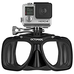 OCTOMASK's built in GoPro Camera mount offers divers a great way to shoot incredible video while diving in addition to keeping your hands free. Because let's face it, between checking dive computers or holding dive lights, you've already got ...
