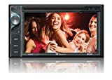 XO Vision 6.2-Inch Touch Screen DVD Receiver with Built-In Bluetooth