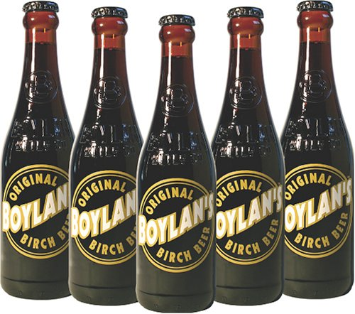 Boylan's Original Birch Beer, 12 Ounce (12 Glass Bottles)