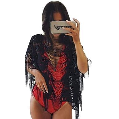 Camisolas y Pareos Anti - Camisa Blusa Vestido de Playa Bikini de ...