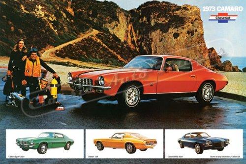 classic camaro poster - 6