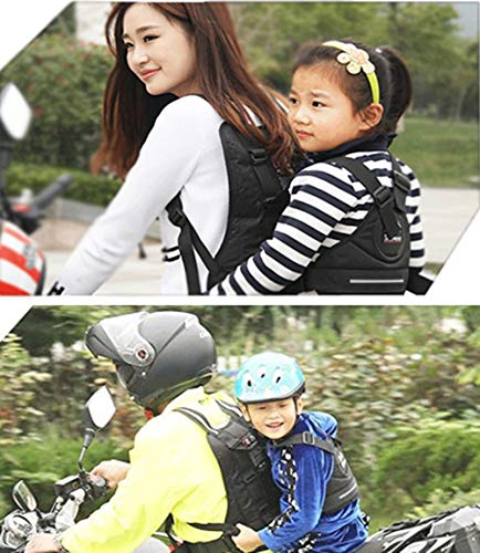 LOLBUY High Strength Childrens Motorcycle Safety Harness Can be Adjusted Up and Down,Black. by LOLBUY (Image #4)