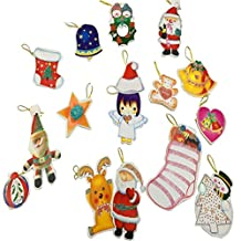 4EVER Cute Angel Ornaments Greeting Cards - Christmas Tree Hanging Decoration with Rope, 14 Pcs