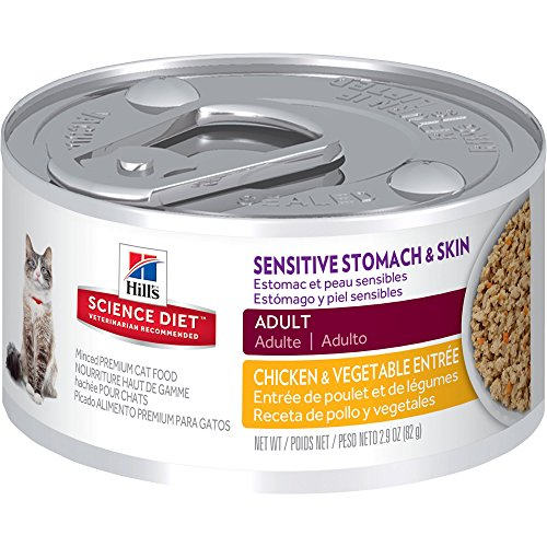 hills-science-diet-adult-sensitive-stomach-skin-chicken-vegetable-entre-canned-cat-food-29-oz-24-pac