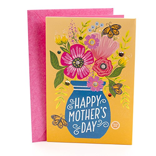Hallmark Mother's Day Card with Music & Lights (Sunshine, Happiness, and Love)]()