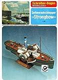Aue Verlag Schreiber-Bogen Card Model Paddle boat 'Strongbow'