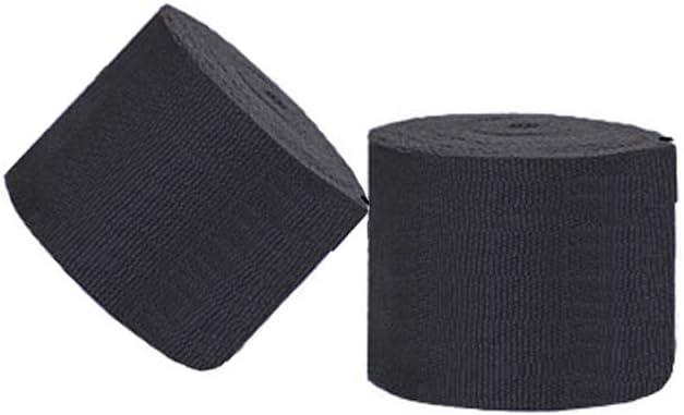 Luwint 2 Pack Elastic Professional Hand Wraps for Men Women Long Bandage Wraps for Muay Thai MMA Kick Boxing Fitness Training 16.4ft// 5m