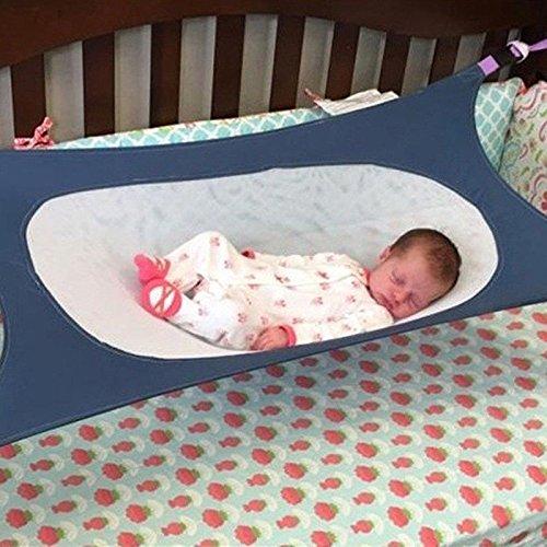 okokmall US -- bebé recién nacido Hamaca Infantil Cama elástica Bebé portátil desmontable saludable una cuna