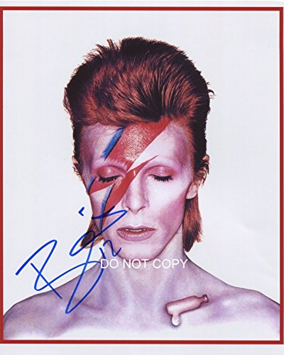 David Bowie singer/songwriter reprint signed autographed 11x14 poster photo #1 RP Ziggy Stardust RP