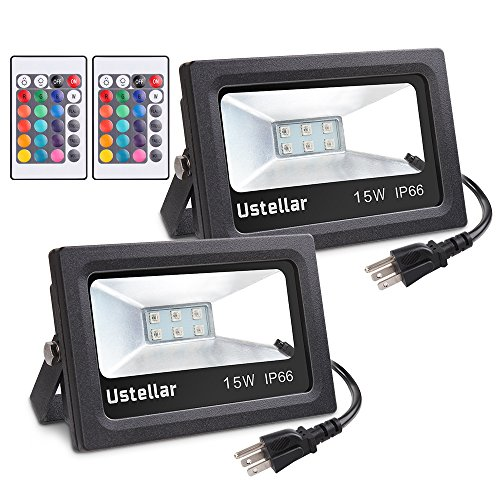 Ustellar Changing Floodlight Waterproof Dimmable
