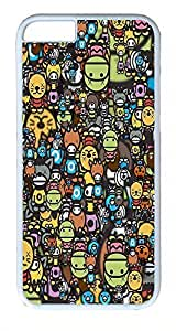 ACESR Animal Dolls iPhone 5 5s Hard Shell Case Polycarbonate Plastics Recommended Case for Apple iPhone 5 5s White