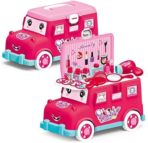 Coxeer 女の子の化粧おもちゃセット女の子のための多機能の女の子美容おもちゃ遊び化粧セット