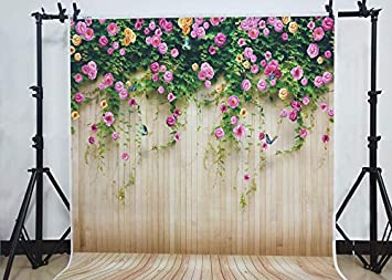8x12 FT Flower Vinyl Photography Background Backdrops,Dandelion Flower Pattern Botanical Cheering Happy Classical Illustration Background for Graduation Prom Dance Decor Photo Booth Studio Prop Banner