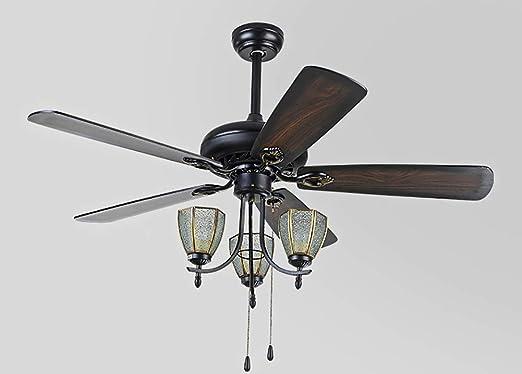 candelabro FHW Lámpara Antigua del Ventilador eléctrico de la ...