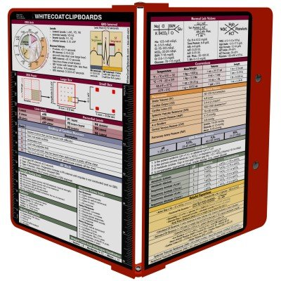 WhiteCoat Clipboard- Red 7028-MBLK