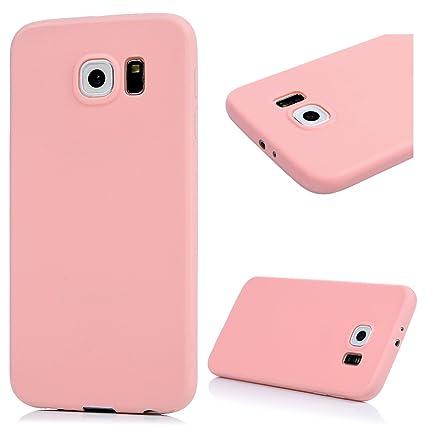 S6 Funda TPU Silicona Gel, Badalink Carcasa Suave para Samsung Galaxy S6 Protective Case Cover Resistente al Desgaste