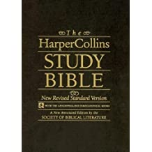 The HarperCollins Study Bible black leather: New Revised Standard Version (with the Apocryphal/Deuterocanonical Books)