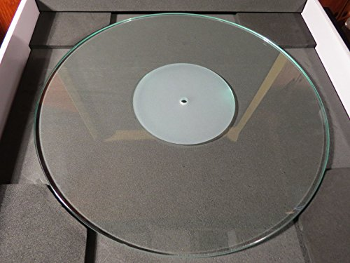 Glass Crystal Turntable Record Player Platter Mat
