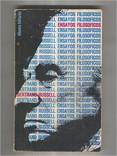 Libro Bolsillo numero 116: Ensayos filosoficos: Amazon.es: Bertrand Russell: Libros