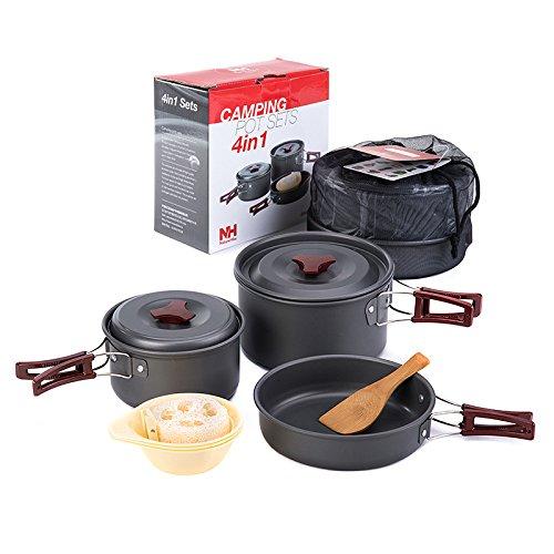 NatureHike2-3人用アウトドア鍋キャンピング調理器具ポータブル鍋の商品画像