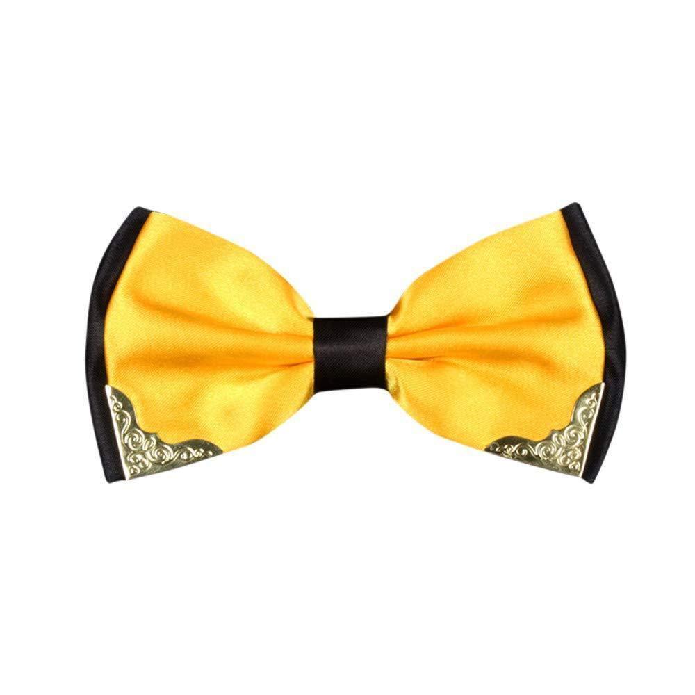 Huojingli Color Cashmere Necktie and Pocket Square Tie Clip Sets for Men