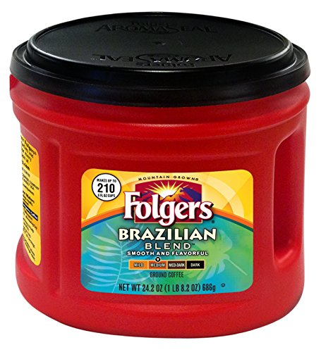 Folgers Brazilian Blend Coffee, 24.2 Ounce
