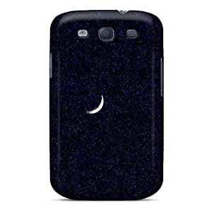 Defender Case For Galaxy S3, Moon And Stars Pattern