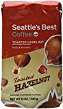 Seattle's Best Toasted Hazelnut Flavored Ground Coffee, 12-Ounce Bags (Pack of 3)