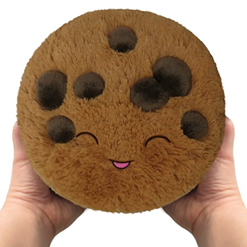 Squishable/ Mini Comfort Food Chocolate Chip Cookie Plush  7quot Brown