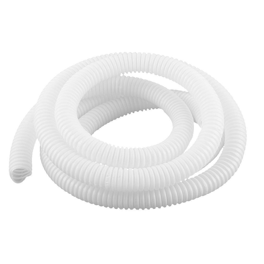 sourcing map Tubes ondul/és souples fil Conduit flexible tuyau 2m long 16x20mm