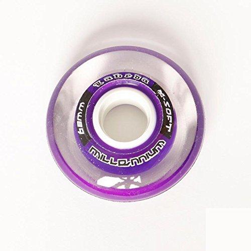 Labeda Gripper Millennium Wheels 4 Pack 2010 68mm X-Soft Purple