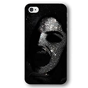 Scary Screaming Face in Stary Sky For HTC One M7 Case Cover Slim Phone Case