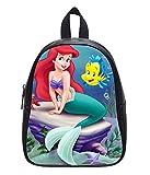 The Little Mermaid Pattern Soft PU Backpack School Bag Travel Bag outdoor Bag-Large For Sale