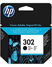 HP 302 Nero (F6U66AE) Cartuccia Originale per Stampanti HP a Getto di Inchiostro, Compatibile con Stampanti HP DeskJet 1110; 2130 e 3630; HP OfficeJet 3830 e 4650; HP ENVY 4520
