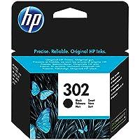 HP 302 Nero (F6U66AE) Cartuccia Originale per Stampanti HP a Getto di Inchiostro, Compatibile con Stampanti HP DeskJet 1110; 2130 e 3630; HP OfficeJet 3830 e 4650; HP ENVY 4520