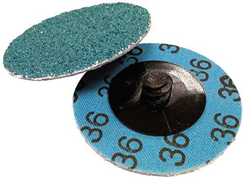 Alflex Zirconia Quick Change Disc, Roloc type, 75 mm, P120 Grit (Pk 50) A.0305-120