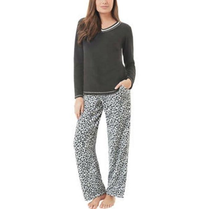 Aria Pijama - para mujer Negro negro XX-Large