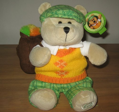 Starbucks Coffee 2006 Bearista Teddy Bear Golfer (Golfer Bear)