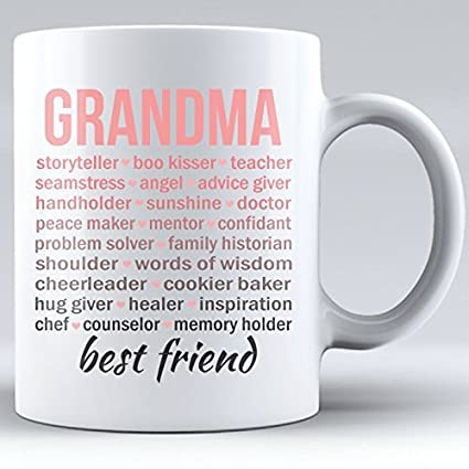 Amazon Grandma Gift Coffee Mug