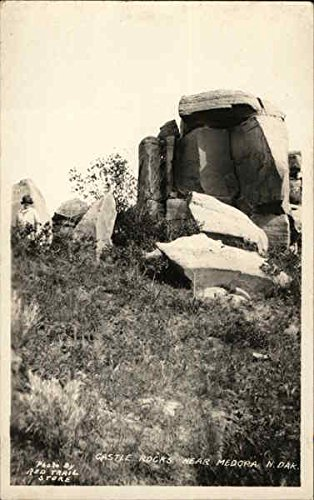 Castle Rocks Medora, North Dakota Original Vintage - Castle Rock Stores