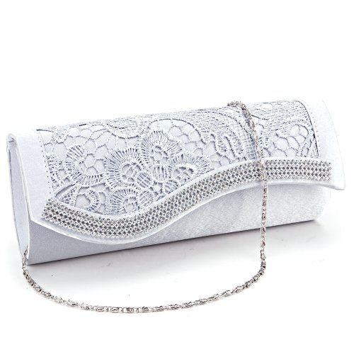 Crystal Diamantes Evening Wedding Handbag