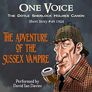 The Adventure of the Sussex Vampire Audiobook