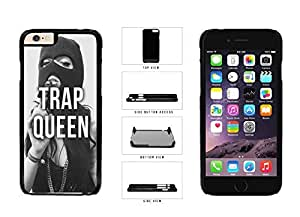 Trap Queen Plastic Phone Case Back Cover Apple iphone 4 4s ( es screen) includes fashion case Cloth and Warranty Label