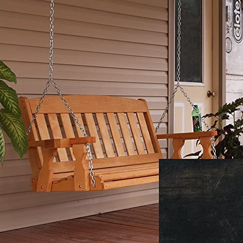 Amish Heavy Duty 800 Lb Mission Treated Porch Swing