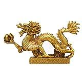 Feng shui Dragon Luck & Success / feng shui goods Brass dragon Statue Sculpture