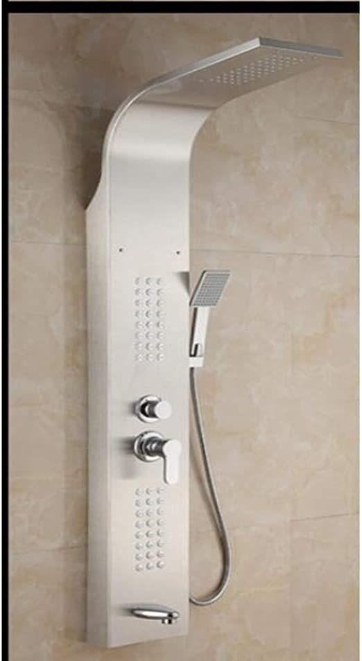 Shower To Shower Panel De Ducha Columna Torre W/Cuerpo Jets-con ...