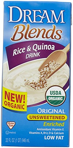 Dream Organic Dream Blends - Unsweetened Quinoa Rice - 32 oz