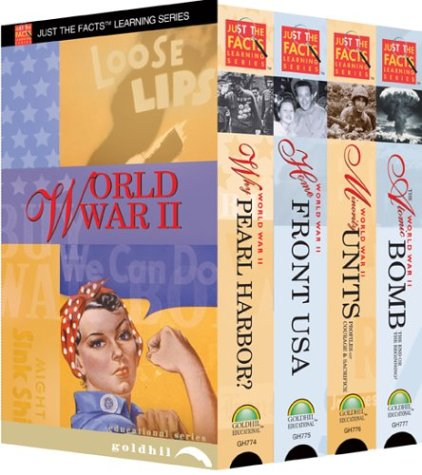 Just the Facts: World War II - 4 Volume Classroom [VHS]