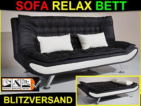 "3In1 Design Schlafsofa ""Spirit"" Relaxfunktion Sofa / Bett"